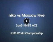 Vídeo: niko vs. Moscow Five @Intel Extreme Masters World Championship 6