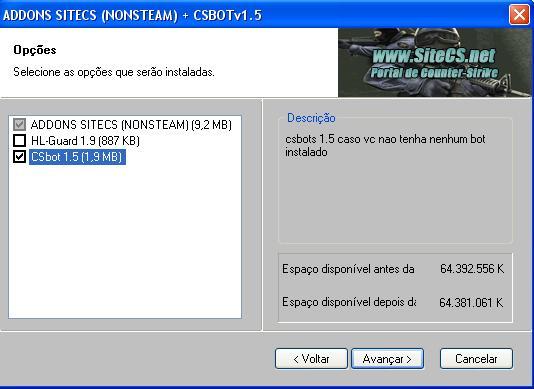 Addons CS 1.6 Imagema