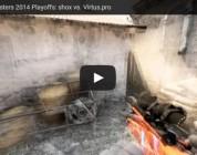 Vídeo: shox vs. Virtus.pro @Fragbite Masters 2014