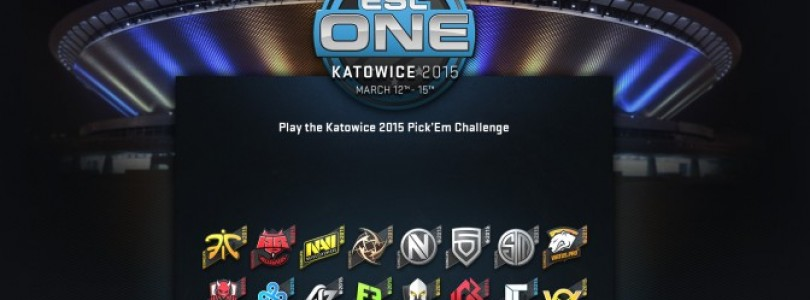 Stickers Katowice 2015 lançados