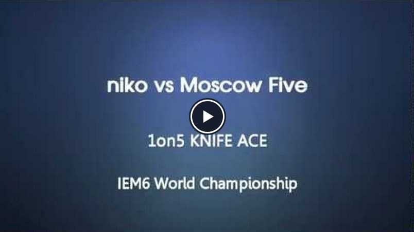 Vídeo: niko vs. Moscow Five @Intel Extreme Masters World Championship 6