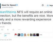 Você vai precisar de conexão online para jogar Need for Speed