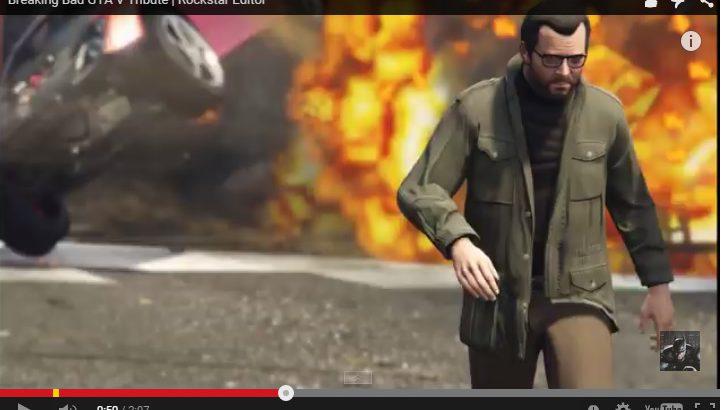 Fã de Breaking Bad recria cenas usando GTA V