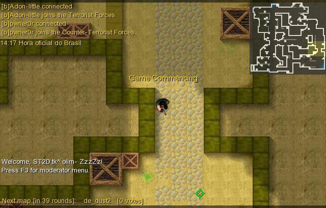 Counter-Strike 2D jogo de FPS, semelhante ao Counter-Strike