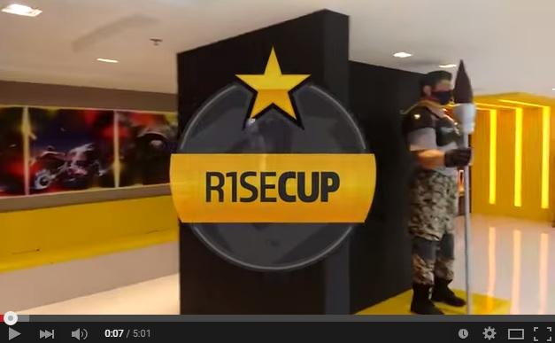 Definidos os grupos da R1seCup