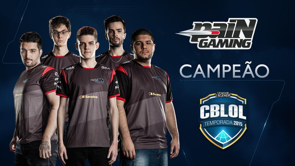Pain Gaming campeã do CBLOL!