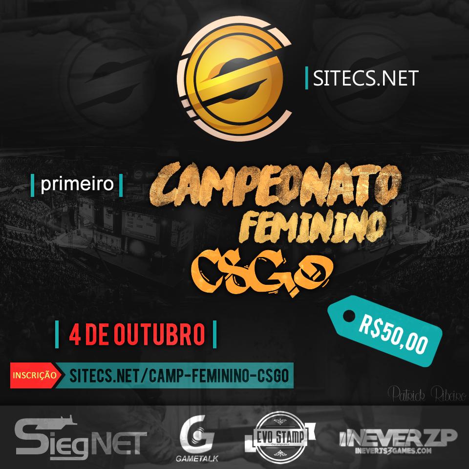 1º Campeonato Feminino CS:GO