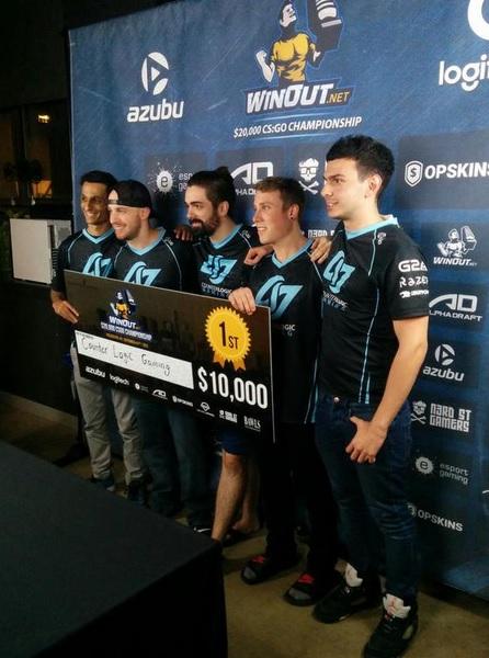 CLG é campeão do WINOUT $20,000 CS:GO CHAMPIONSHIP