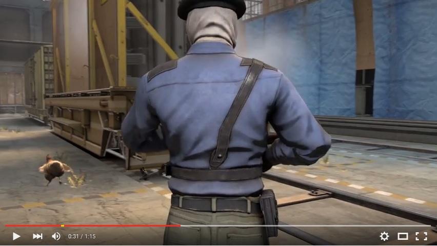 Fallout 4, reimaginado no Counter-Strike