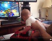 Com 6 meses de idade zerando Street Fighter 5