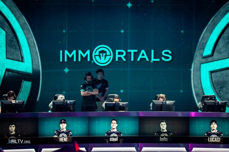 Immortals no minor das américas