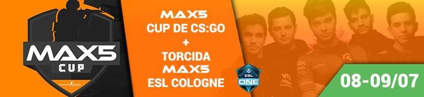 MAX5 CUP – Torneio presencial atrai as melhores equipes do país