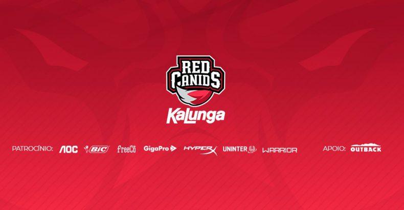 RED Canids começa atropelando, toma susto, mas ganha