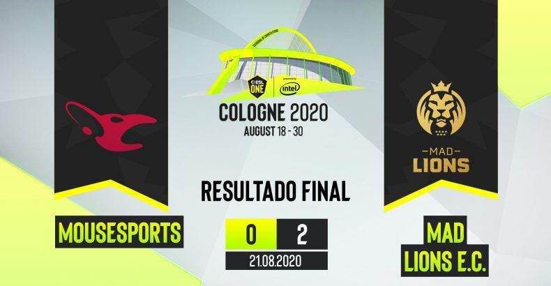 mousesports dá adeus a ESL One Cologne