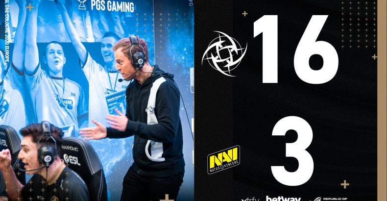 NIP atropela a NAVI e vai aos playoffs
