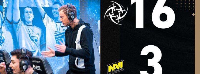 NIP atropela a NAVI e vai aos playoffs