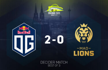 OG despacha MAD Lions da ESL One Cologne