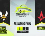 Astralis faz jogo sem sustos e bate a Vitality