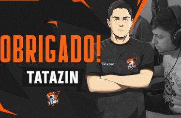 tatazin vai para o banco da Yeah Gaming